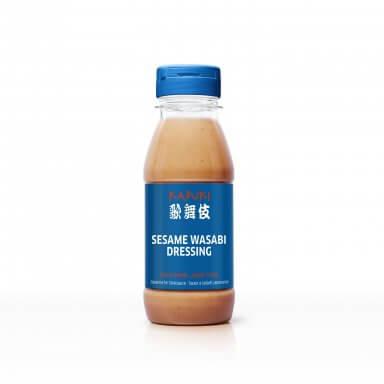 Flasche KABUKI Sesame Wasabi Dressing